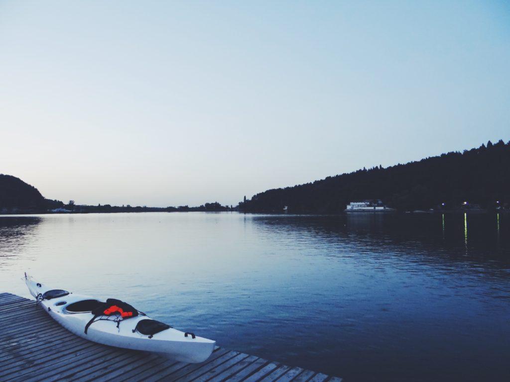 Voyage en kayak