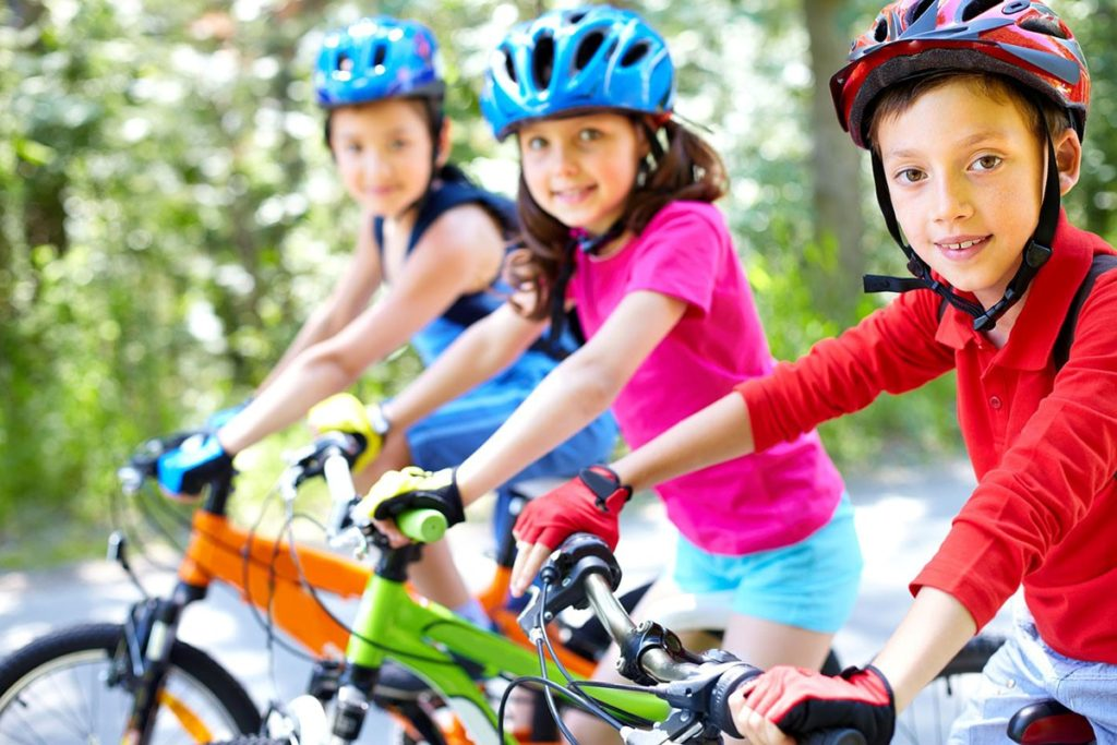 apprendre le vélo aux enfants