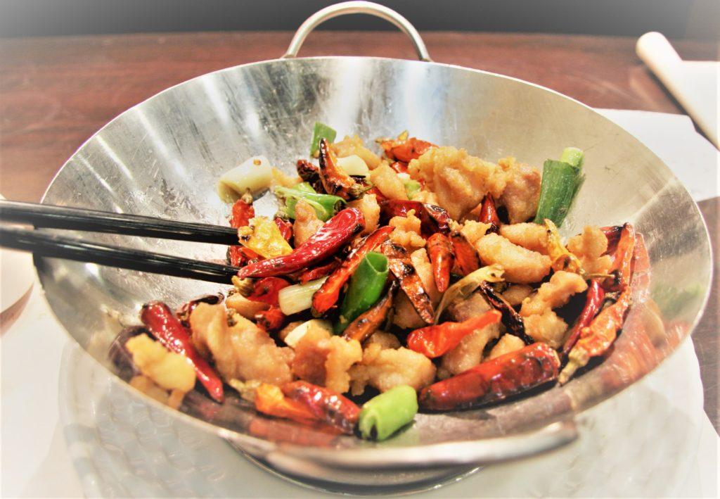 Le wok permet de préparer toutes sortes de recettes