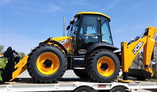 Bulldozer jaune entreprise de BTP