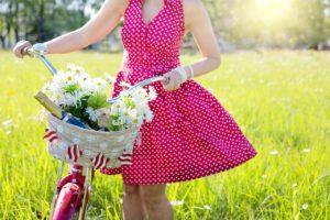 robe rose en soie