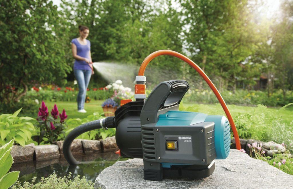 pompe à eau électrique jardin