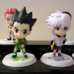 la figurine hunter x hunter