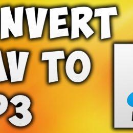 convertir WAV en MP3