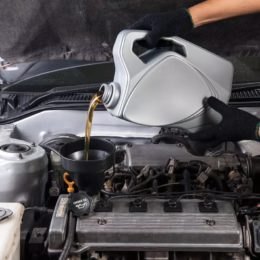 huile de transmission de voiture