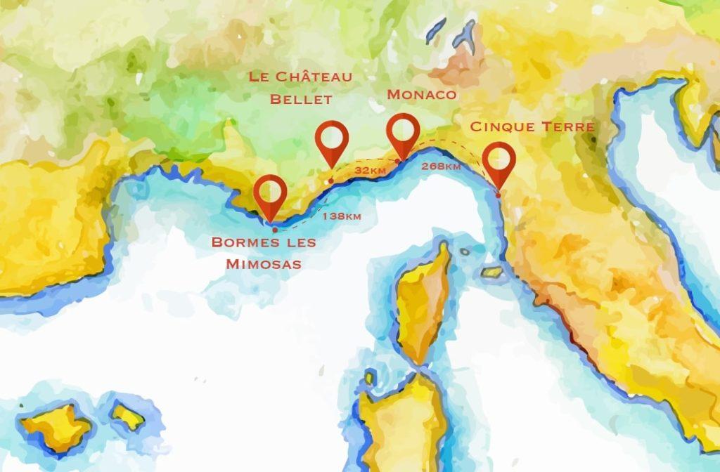 vin monaco map