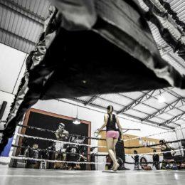 Ring de boxe